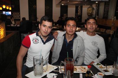Fernando, Roberto y Daniel .