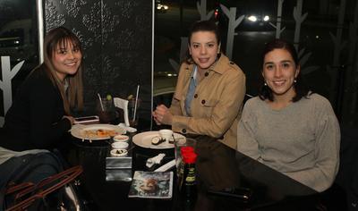 Alejandra, Fernanda y Hada.