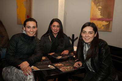 Luisa, Julia y Sofía.