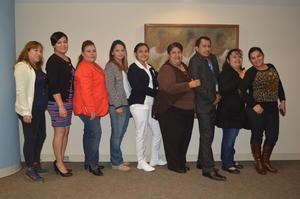05022018 Leticia, Sandra, Leticia, Azucena, Guadalupe, Juan Carlos y Luli.