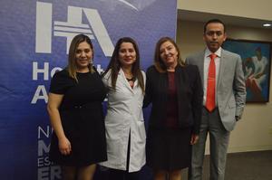 05022018 Paola Salas, Cecilia Huizar, Elisa Cobos y Juan Morelos.
