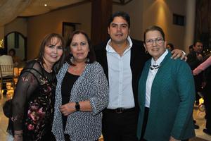06022018 Cecilia, Ana Laura, Luis y Elsa.