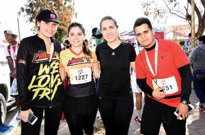 06022018 Patricia Méndez, Tomasa Lozano, Ana Solís y Enrique Guevara.
