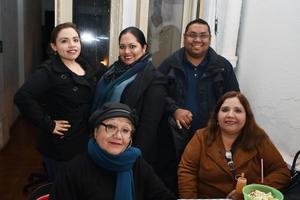 06022018 Gloria, Laura, Daniel, Angélica y Alicia.