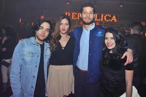 Meny, Fernanda, Israel y Gretel