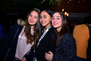 Daniela, Naomi y Sabrina