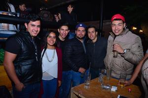 Manuel, Fernanda, Ricardo, Gerardo, Guillermo y Alberto