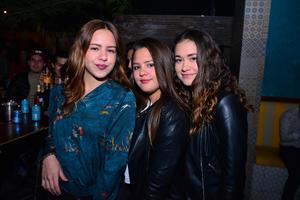 SofIa, Regina y Mariana
