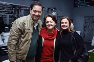 David, Ana y Paty