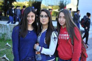 Anafer, Raquel y Fernanda