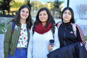 Mariana, Daniela y RocIo