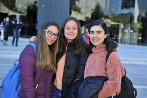 Monse, Valeria y Karen