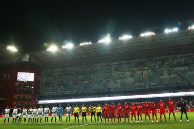 El partido se disputó en el Nemesio Diez.