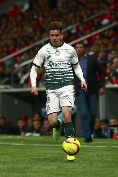 David Andrade durante el encuentro ante Toluca.