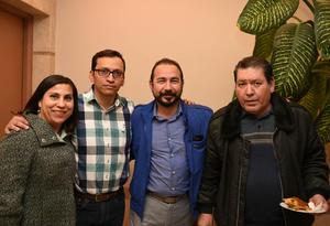 08022018 Karina Plascencia, Juan Camacho, Alejandro Gómez y José Luis Terrazas.