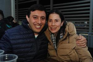 09022018 EN EL TSM.  Carlos y Liliana.