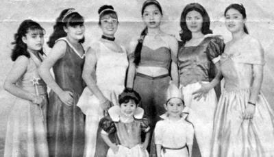 11022018 Karen, Jesús, Tania, Liliana, Alicia, Aracely, Erika y Sonia, hace varios años.