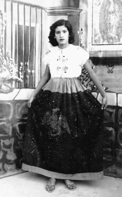11022018 Juana María Enríquez Mestas en 1951.