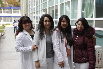 Alondra, Karla, Martiza y Dulce.