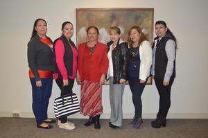 11022018 EN RECIENTE EVENTO.  Lulú, Aracely, Rosa, Blanca, Alma y María Elena.
