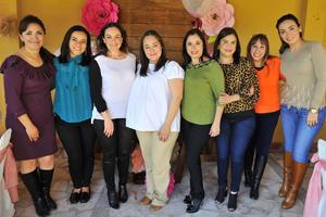12022018 SERá MAMá EN BREVE.  Lorena Galván el día de su baby shower.