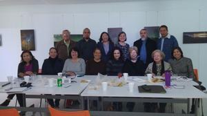11022018 LA FOTO DEL RECUERDO.  Segunda reunión de representantes de museos para organizar la semana de museos en mayo próximo.