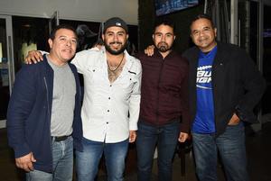 12022018 José Ángel Ávalos, Hugo Carrillo jr., Miguel Carrillo y Hugo Carrillo.