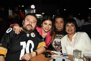 12022018 Francisco Amezcua, Erika González, Mauricio Marín y Mary Carmen Cortez.