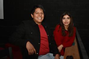 11022018 CONVIVEN.  Elías y Fernanda.