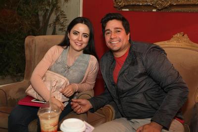 Ana Laura Gamboa y Carlos Gómez.