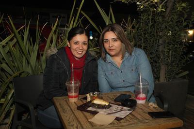 Luz Elena y Mónica.