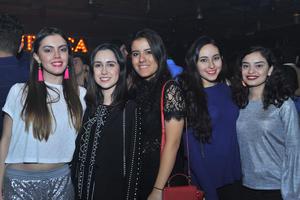 16022018 Sofía, Maritere, Daniela, Michele y Mariela.