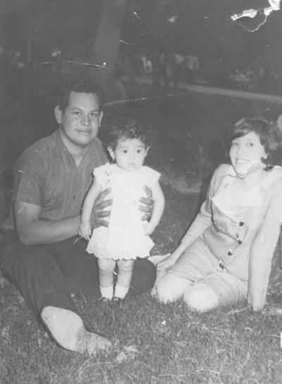 18022018 Graciela Rivera Lara, hija de los Sres. José Luis Rivera Chairez y Graciela Lara de Rivera, en 1970.