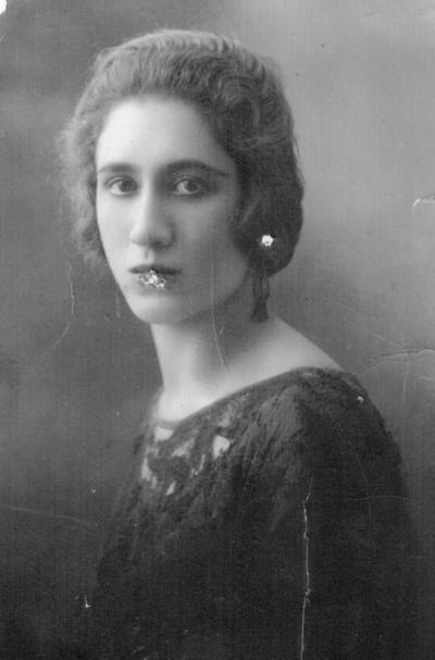 18022018 Juana Paz Mestas Esquivel, en 1924.