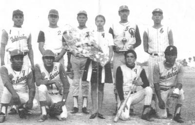 "18022018 Equipo de Beisbol ""La Victoria Bar"" de San Pedro, Coahuila, en 1980."