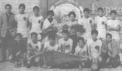 """18022018 Equipo representativo de la Escuela Comercial """"Treviño""""."""