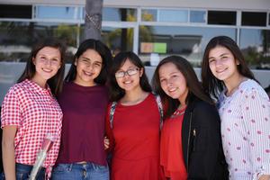20022018 Anacris, Cristina, Angie, Mireya y Victoria.