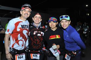 Beto, Mayte, Carmina y Lorena