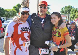 Erick Sotomayor, Fernando y Sofía Gutiérrez