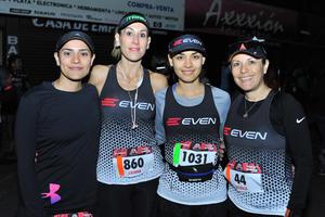 Fabiola, Liliana, Sharo y Bety