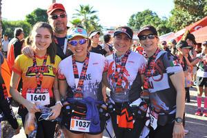 Fernando, Sofía, Lorena, Mayte y Lili