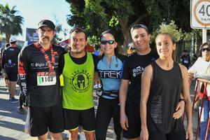 Gonzalo, Rogelio, Ara, Polo y Elisa
