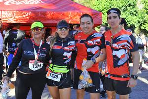 Lupita, Silvia, Jorge y Luis