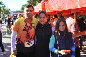 Ricky, Andrea y Sofi