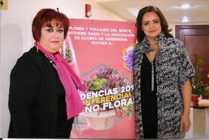 Tere Maraboto de Hernández y Paty R. de Díaz Flores