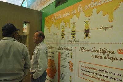 La exhibición es posible gracias al apoyo del movimiento Alas de Vida.