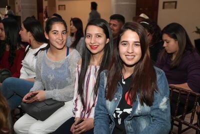 Dayana, Karen y Alejandra.
