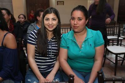 Arely y Mireya.