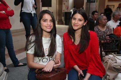 Lizbeth y Marcela.
