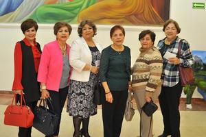 21022018 Jessica, María Esther, Ely, Hilda, Socorro y Rosa María.